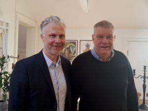 Ulf Malm och Pelle Björklund