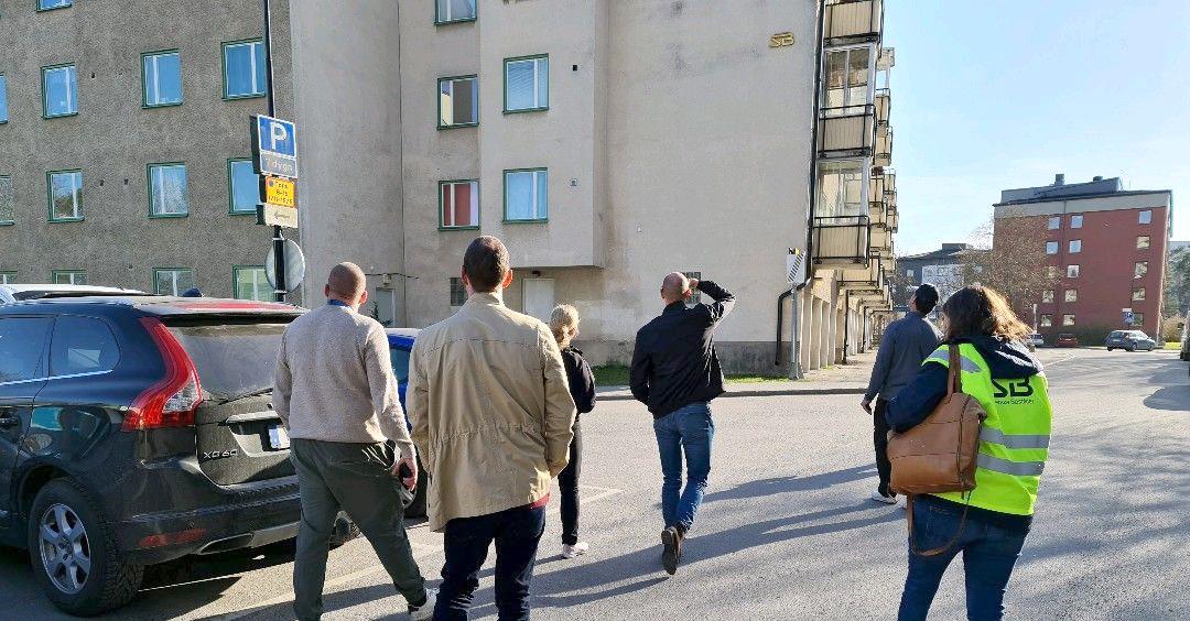 Trygghersvandring i Hässelby Gård